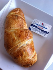 Because there ISN'T enough butter in croissant. They thought my heart needed MORE butter...
