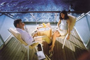 Yachts and Cruises sound romantic... Until you're pushed off the deck or balcony...