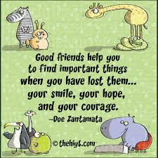 good friends take time to listen to you