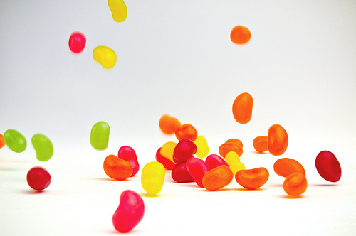 jumping jelly beans