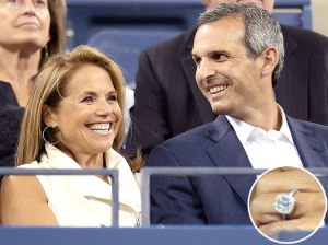 Katie Couric happy in love again
